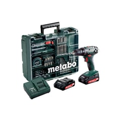 Metabo BS 18  MD 2x2,0 Ah - Aku vrtačka